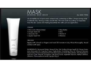 Mineral Mud Mask
