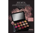 Rose Metal  15 Well Eye Shadow Pallet