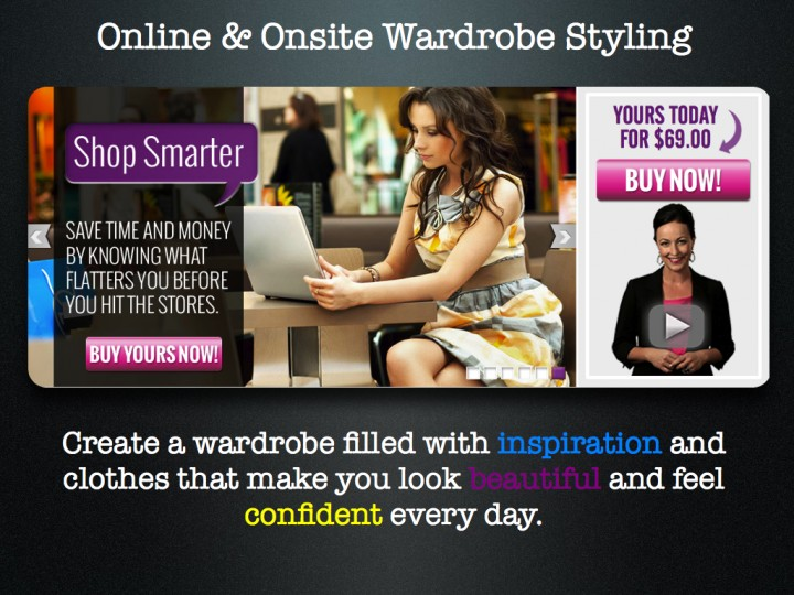 Online and Onsite Wardrobe Styling